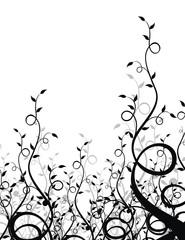 pared de ramas