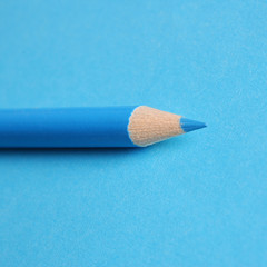 Blue pencil on blue paper. Boys are the best!