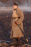 Soldier 1918. reenacting russian Civil War poster