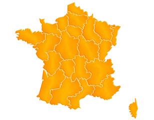 Carte France Sable