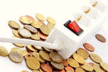 Turning off saves money