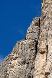 Climbers - Dolomite mountains