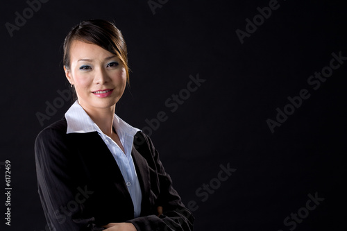 confident smile of a business woman