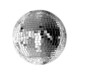 big silver disco ball - 6176609