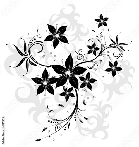 flowers background designs. Abstract flower background