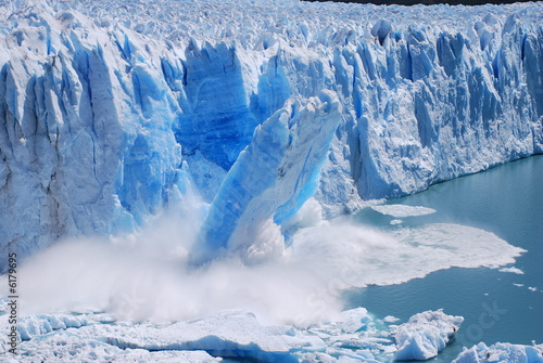 Foto op Canvas Gletsjers Glacier Collapse
