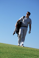 Golfplatz, Golfspieler