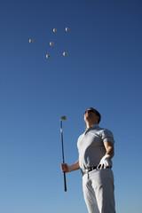 Golfball, Golf