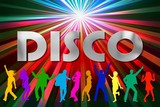 disco color - fun poster