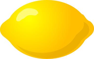Illustration of a whole lemon