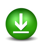 Download Button - green poster