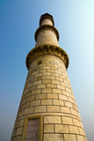 The north-eastern minaret of Taj Mahal - Agra, India poster