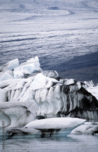 glacier in Iceland, Vatnajokull