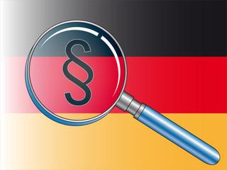 deutsche gesetze suchen