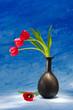 obraz - Red tulips. Still ...