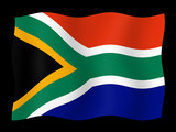 Flag of South Africa poster