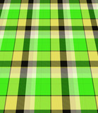 Green plaid material poster