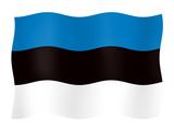 Flag of Estonia  poster
