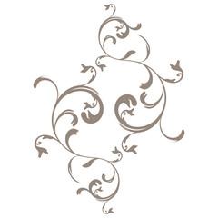 vector serie - flower arabesque