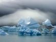 Quadro Iceberg dans la brume matinale