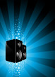 pumping party speakers!
