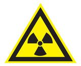 Radioaktiv, Atom, Symbol poster