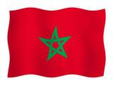 Flag of Morocco  poster