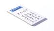 Taschenrechner white design gewinn