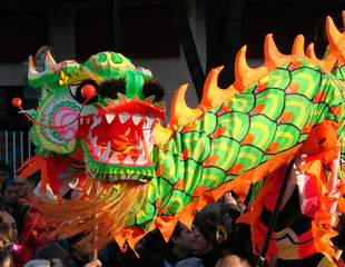 Nouvel an chinois - Danse du dragon