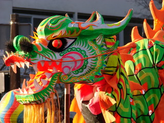 Dragon du nouvel an chinois