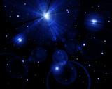 Twinkling stars poster