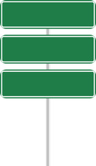 tres letreros