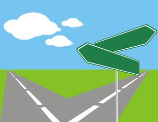 opciones de ruta