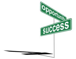 exito y oportunidad