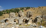 ancient ruins in Ephesus, Turkey poster