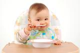 eating baby girl - Fine Art prints