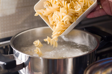 Macaroni italian food pasta