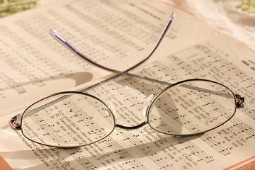 La paire de lunettes