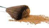 brush and powder poster