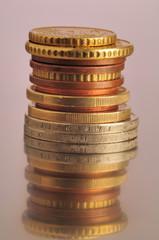 Münzenstapel