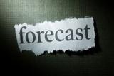 Headline Forecast, concept of Forecast poster