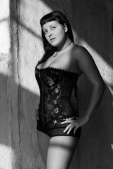 portrait jeune femme sexy