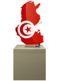 Election tunisienne poster