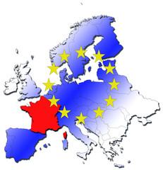 France en Europe