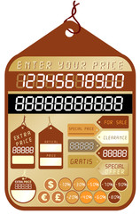 Vector price tag - collection