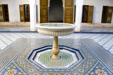 Patio du Palais Bahia, Marakesh