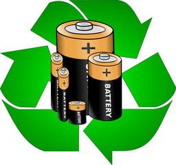 reciclar pilhas