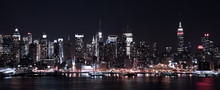 "Постер, картина, фотообои ""Lights of NY CIty"""