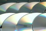 Background from brilliant fragments compact disks poster
