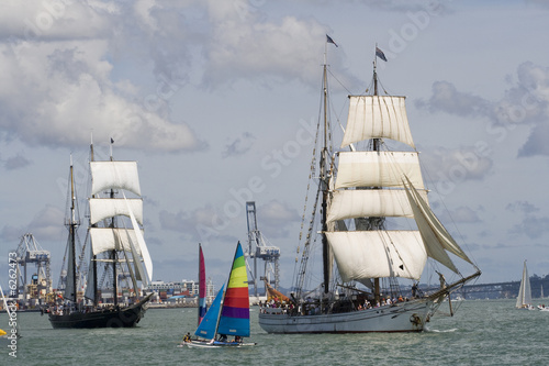 Two Tall Ships - Brigantines Racing